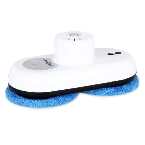 oneConcept Cleanhero Fensterputzroboter Fenster Roboter zum Fester putzen (Fernbedienung, 3 Automatikmodi, 30-Minuten Notstrom-Akku) weiß